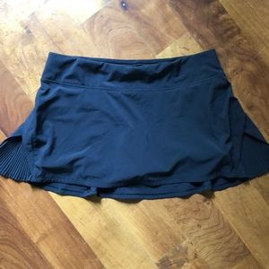 Lulu Lemon Black Skirt
